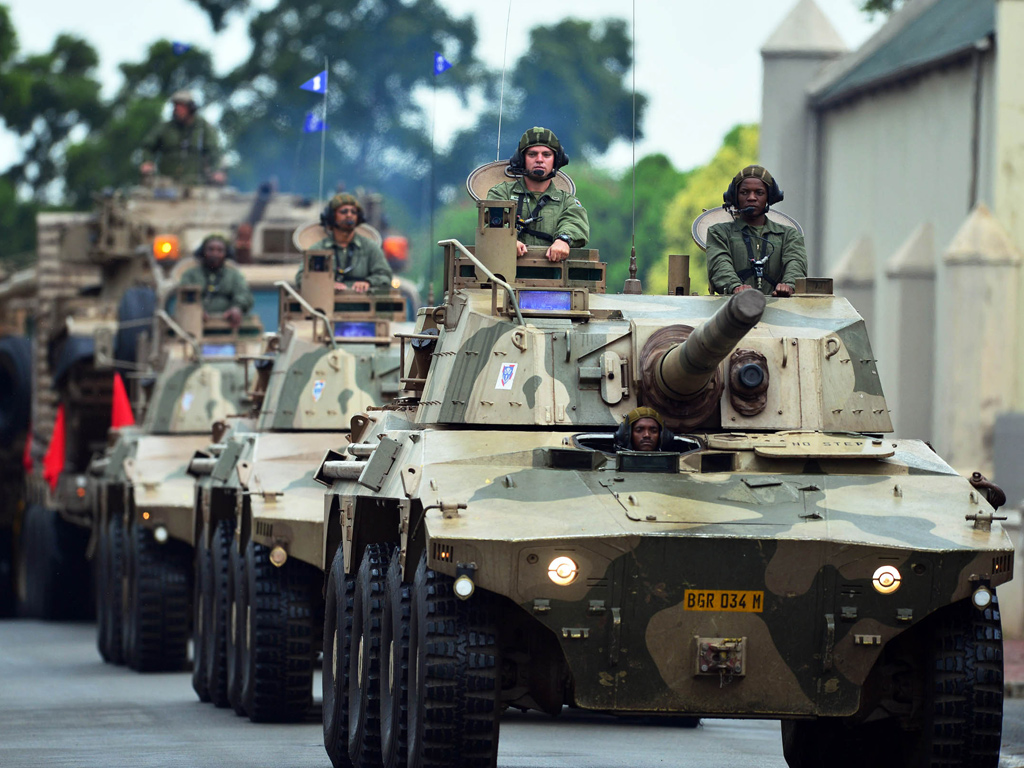 The SANDF is Not Suited for Fighting Crime