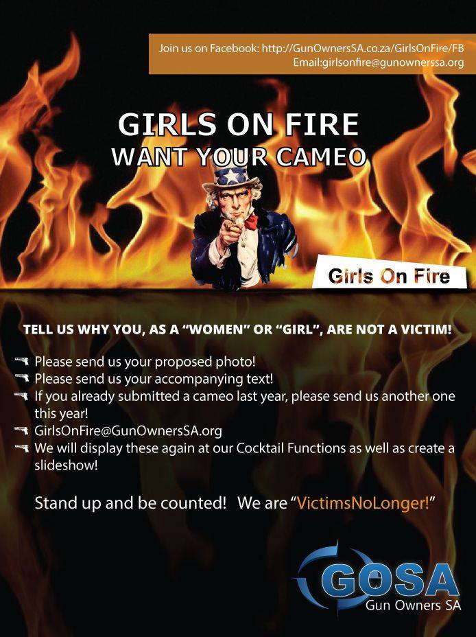 GOSA Girls on Fire: 16 Days of Activism