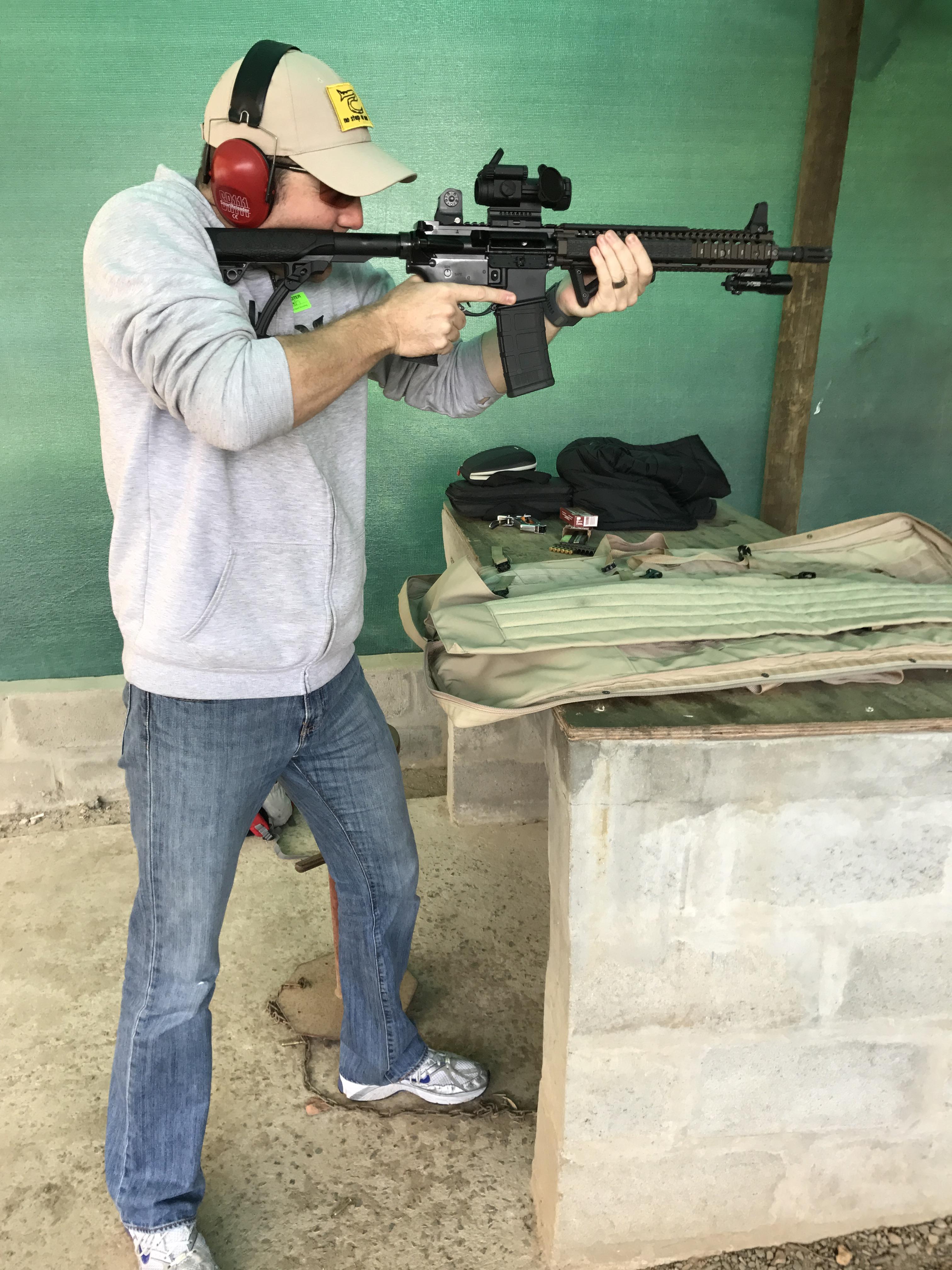 How Not To Suck At Gun Fighting