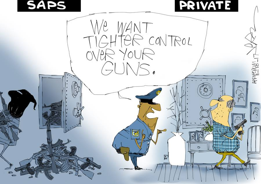 SAPS Lose 8 Times More Guns Than Civilians