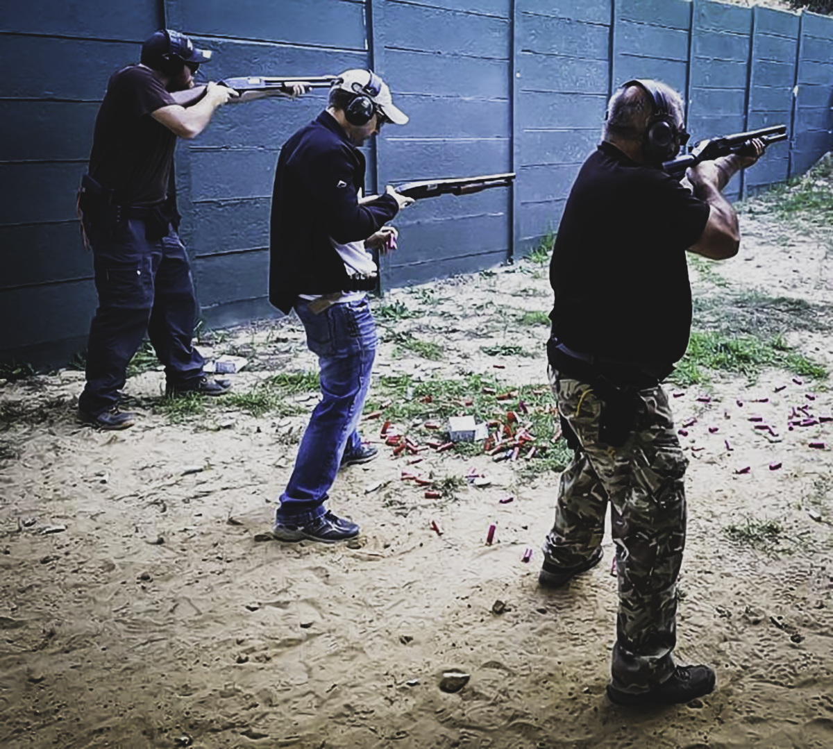 Shotgun Course with MDW – Bleeding Fingers and Broken Egos
