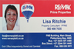 Lisa Ritchie – Remax Plettenberg Bay