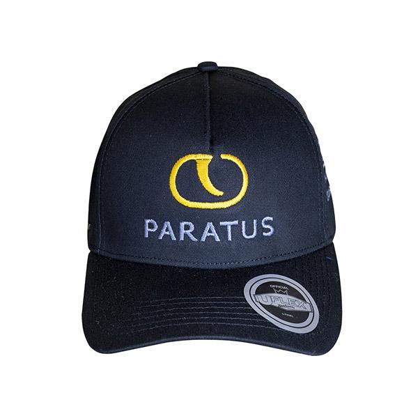 Black Paratus Baseball Cap
