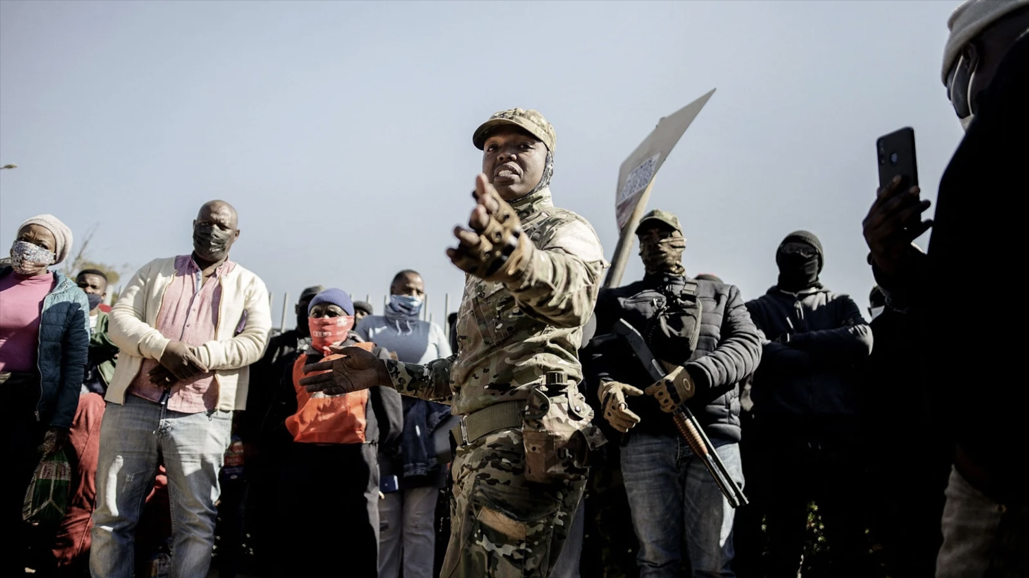 Armed Township Communities are a National Security Asset